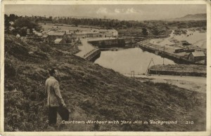 Courtown Harbour - before colour was invented