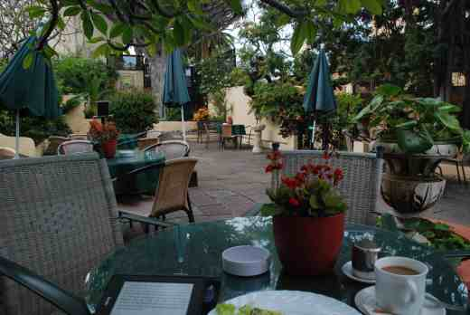 and my favourite spot is the cafe terrace there