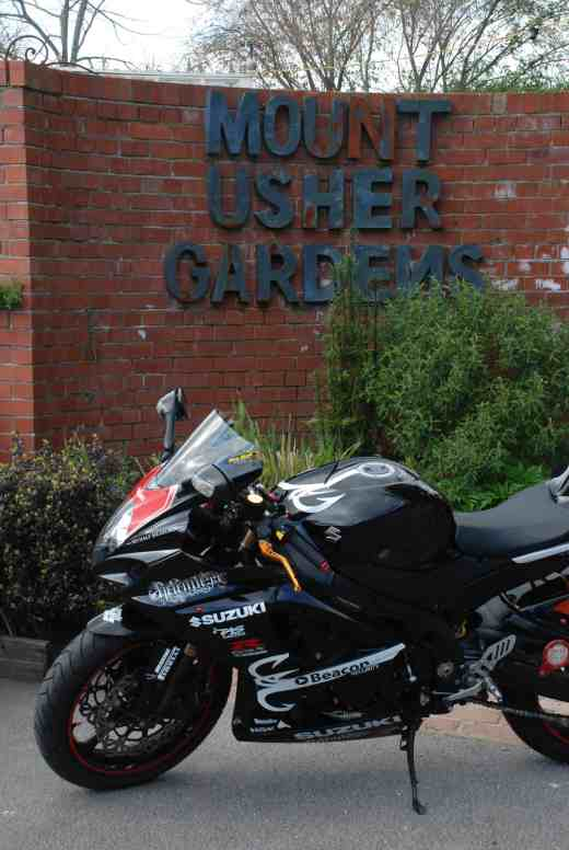 The bike takes a visit to one of Ireland's most notable gardens