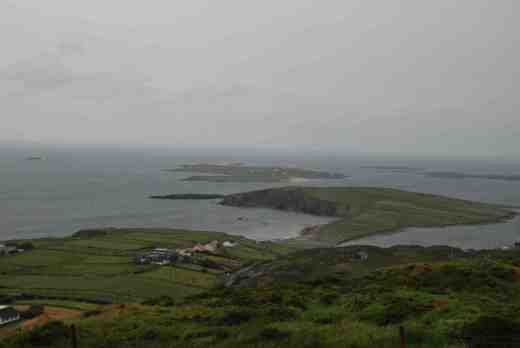 Looking across the Atlantic from Clifden Bay across Talbot Island