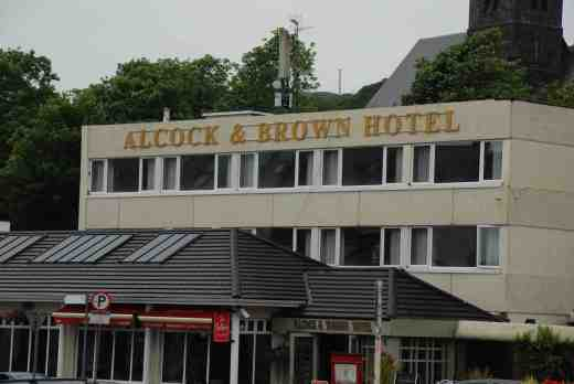 Clifden is famous not only for the scenery and the 'sky drive' but being where Alcock and Brown landed after their historic flight across the Atlantic