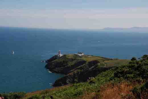 Howth Lighthouse, looking south