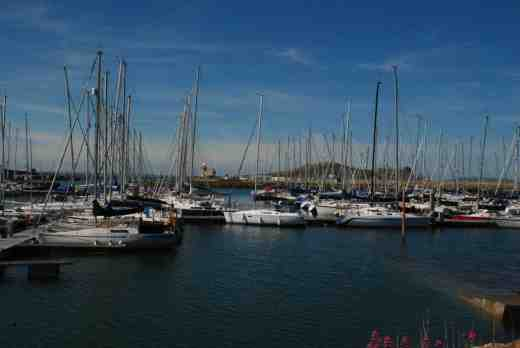 The yacht harbour at Howth Village