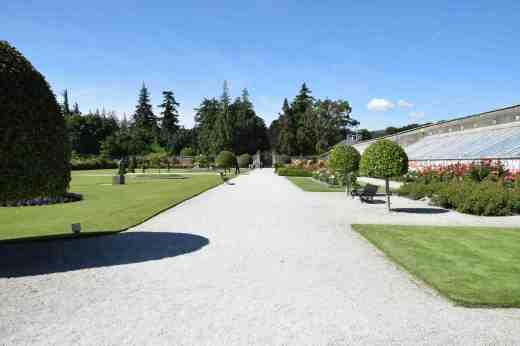 walled gardenn powerscourt