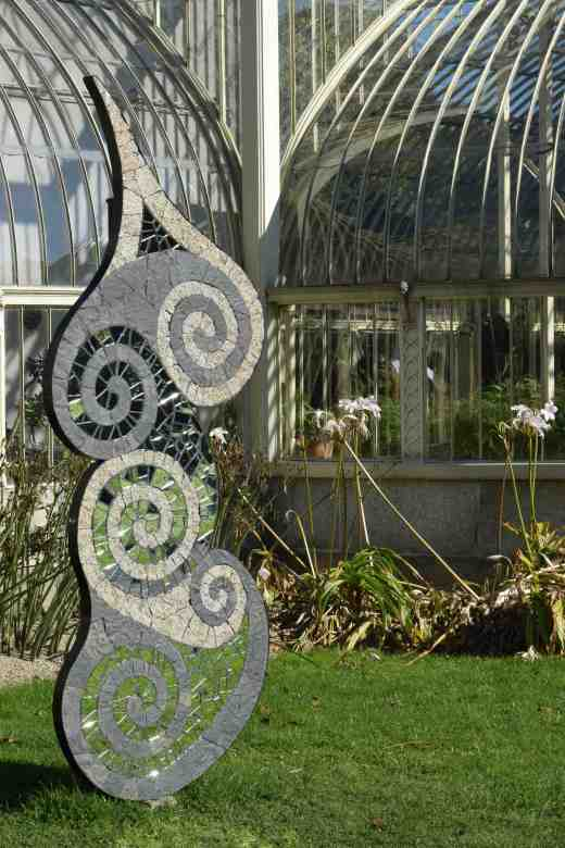 'Monolith' by Sunny Wieler'. I liked the general shape of this, especially the way it echoed the lines of the greenhouse