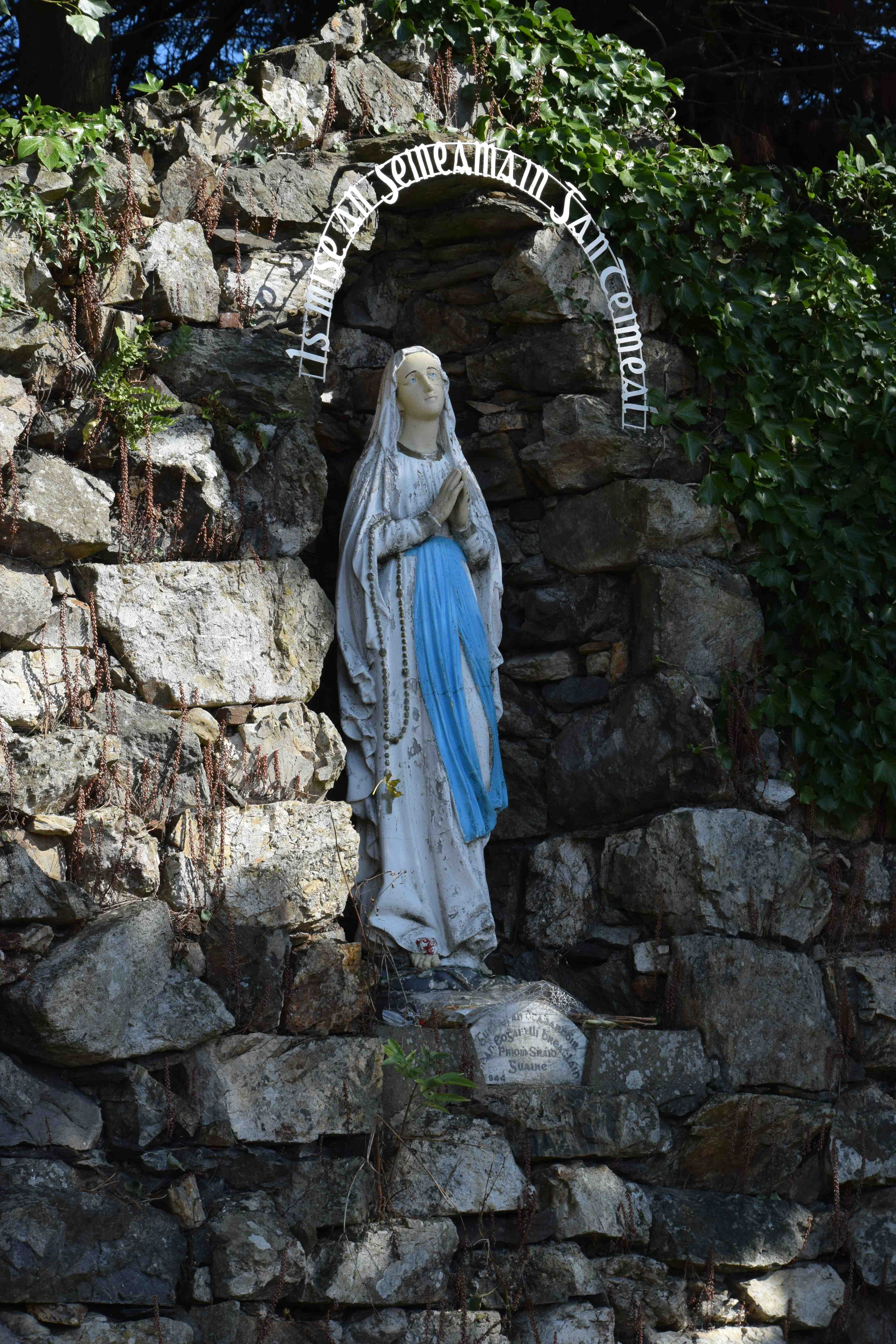 Grottoes Shrines And The Holy Stone Of Clonrichert The