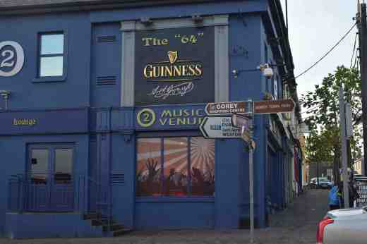 You are never short of somewhere to drink in Gorey