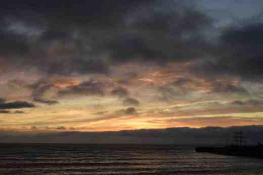 courtown sunrise dec214