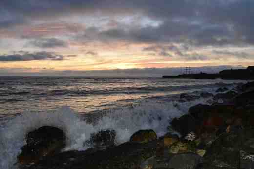 courtown sunrise dec215