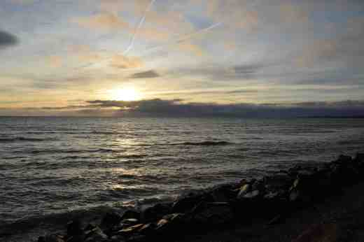 courtown sunrise dec217