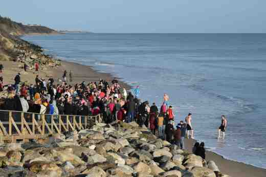 courtown xmas day swim3