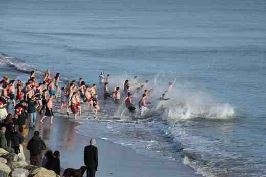 courtown xmas day swim5