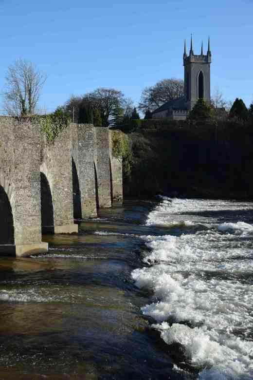 The Slaney and bridge at Ballycarney