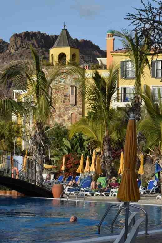 Upper pool at Cordial Mogan Playa