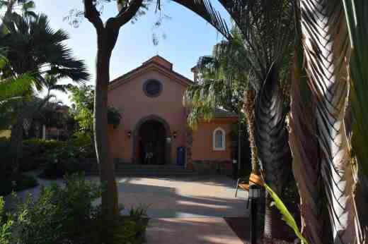 Chapel in grounds of Cordial Mogan Playa