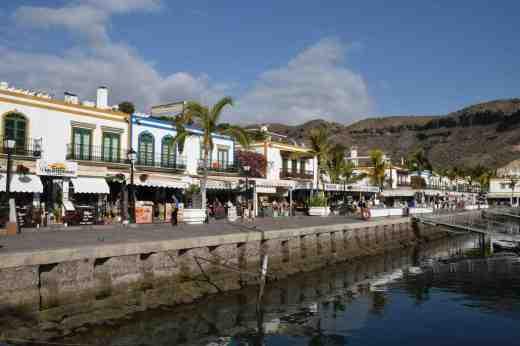 The Marina at Puerto de Mogan
