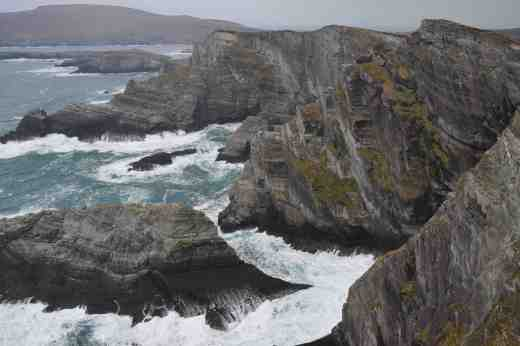 Kerry cliffs on the Skellig Ring