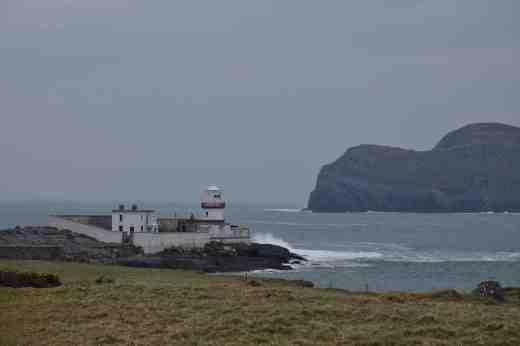 Knights Town Lighthouse on Valentia Island