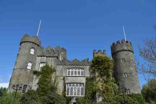 Malahide castle front