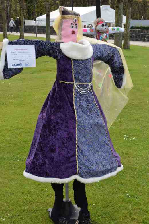 'Queen Victoria' looking very far from amused. Ballymoney model integrated primary school