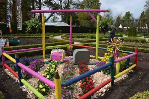 A colourful garden - Conservation volunteers - Derry city and Strabane district council