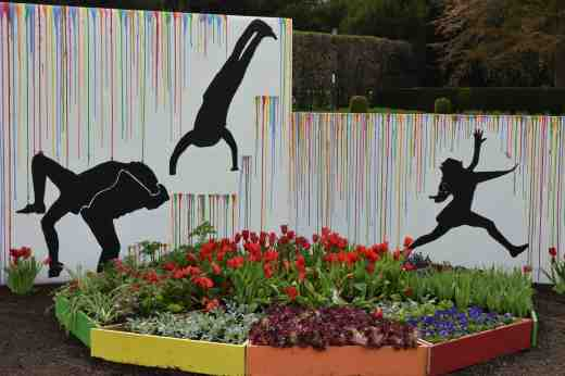 A colourful garden - Laurelhill Community College