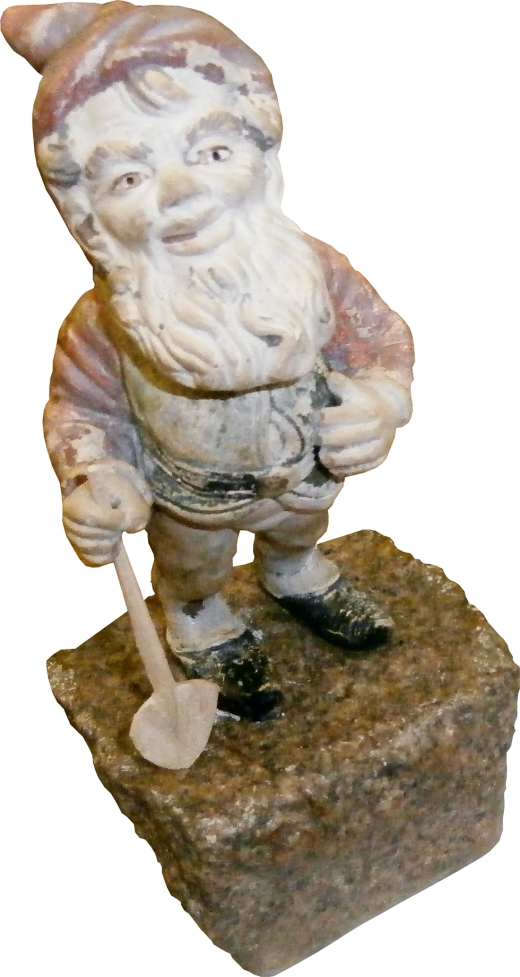 Lampy the gnome - valued at £2 million. Photo from the web