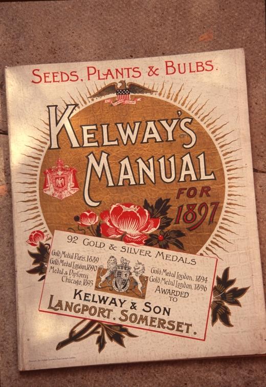 kelways catalogue 1897